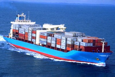 The cost price of container shipping is reduced
