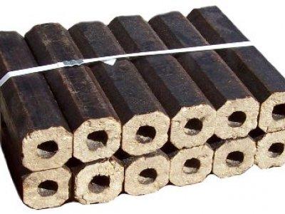 Wooden briquettes Pini&Key